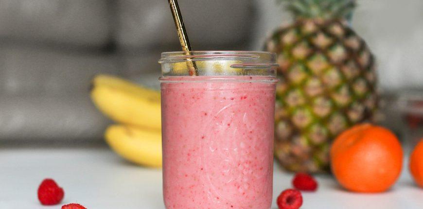 Banana Berry Beverage
